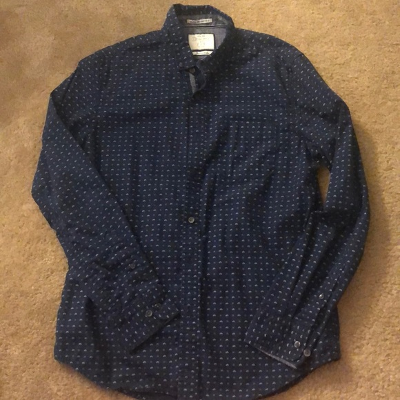 Cactus Man Other - EUC Cactus Man Heritage Made Slim Fit Button down
